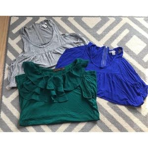 LOT OF 3 WOMENS TANK TOPS FROM THE LIMITED AND AE